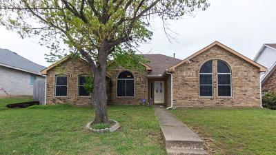 Mesquite Single Family Home For Sale: 1521 Doris Drive
