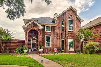 Coppell Single Family Home Active Option Contract: 506 Leisure Court