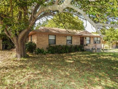 Terrell Single Family Home For Sale: 313 Wall Street