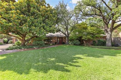 Dallas County, Collin County, Rockwall County, Ellis County, Tarrant County, Denton County, Grayson County Single Family Home For Sale: 3912 Ann Arbor Court