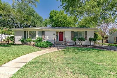 Weatherford Single Family Home For Sale: 114 W Josephine Street