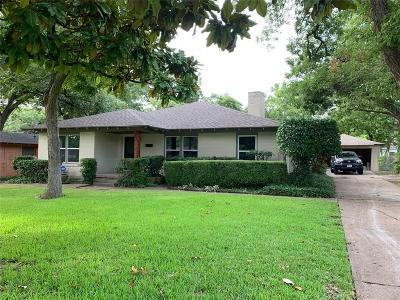 Garland Single Family Home For Sale: 904 Treasure Road