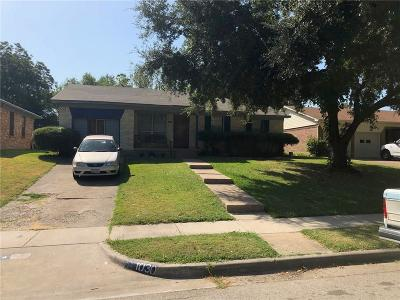 Mesquite Single Family Home For Sale: 1030 Lakeview Drive