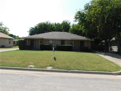 McKinney Multi Family Home For Sale: 1605 A1605 N Oak Street