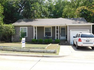 McKinney Single Family Home Active Option Contract: 1503 W Hunt Street