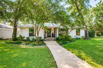 Dallas Single Family Home For Sale: 7108 Edgerton Drive