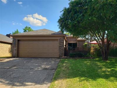 Fort Worth Single Family Home For Sale: 10611 Tall Oak Drive