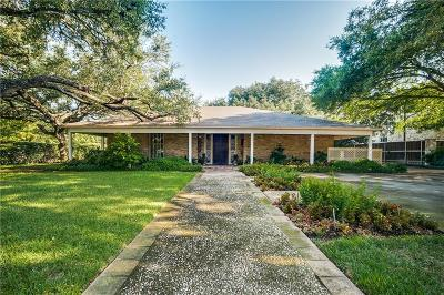 Dallas County Single Family Home For Sale: 6007 Aberdeen