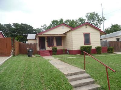 Fort Worth Single Family Home For Sale: 2317 Donalee Street