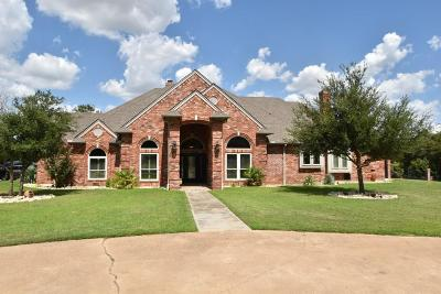 Stephenville Single Family Home For Sale: 1431 Highland View Road