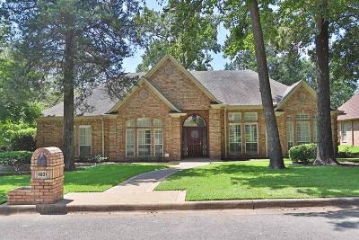 Tyler Single Family Home For Sale: 4831 Barclay Drive