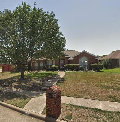 Mesquite Single Family Home For Sale: 3124 Riverview Drive