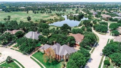 Flower Mound Single Family Home For Sale: 3801 Country Club Drive