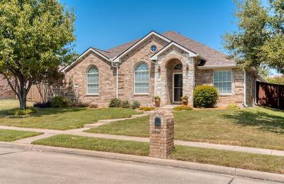 McKinney Single Family Home For Sale: 6300 Calloway Drive