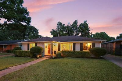 Dallas Single Family Home For Sale: 7206 Dalewood Lane