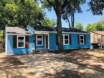 Dallas Single Family Home For Sale: 7747 Courtney Street