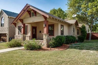 Dallas, Fort Worth, Longview Single Family Home For Sale: 5645 Willis Avenue