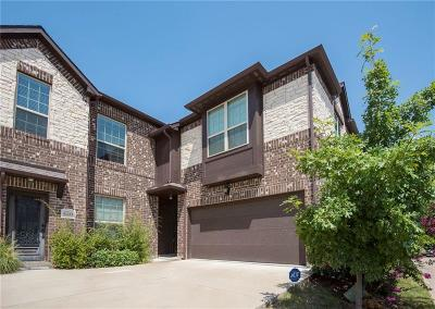 Grand Prairie Townhouse For Sale: 5031 Italia Lane