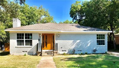Dallas Single Family Home For Sale: 2439 Southwood Drive