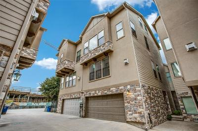 Dallas Townhouse For Sale: 7405 Coronado Way