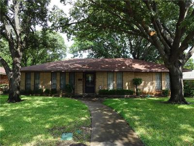 Dallas Single Family Home For Sale: 5420 Lake Placid Drive