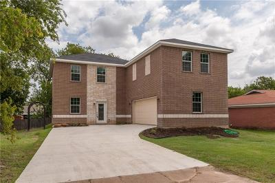 White Settlement Single Family Home For Sale: 501 Grant Circle