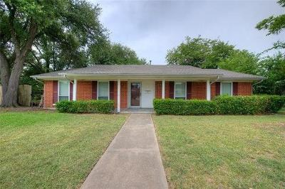 Garland Single Family Home For Sale: 1025 Briar Way