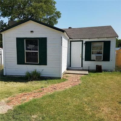 White Settlement Single Family Home Active Option Contract: 8329 Melrose Street W