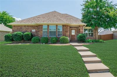 Wylie TX Single Family Home For Sale: $237,500