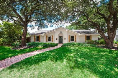 Dallas Single Family Home For Sale: 3021 Timberview Road