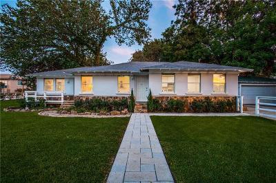 Dallas County Single Family Home For Sale: 5325 Cedar Springs Road