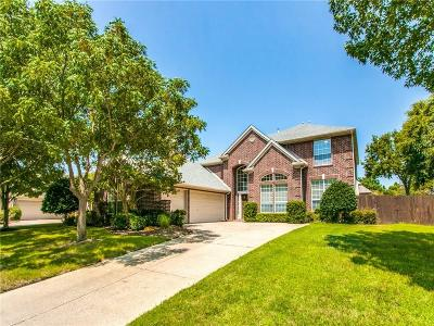Flower Mound Single Family Home Active Option Contract: 4208 Zachary Way