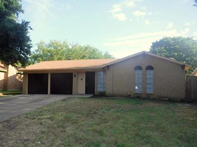 Single Family Home For Sale: 1706 Waggoner Street