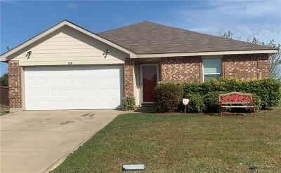 Terrell Single Family Home For Sale: 1829 Trailview Drive