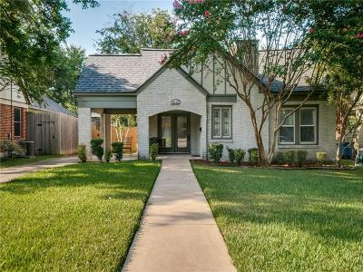 Dallas Single Family Home For Sale: 6116 Prospect Avenue