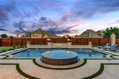 Prosper Single Family Home Active Contingent: 1010 Elk Ridge Road