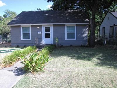 Fort Worth Single Family Home For Sale: 4133 Valentine Street
