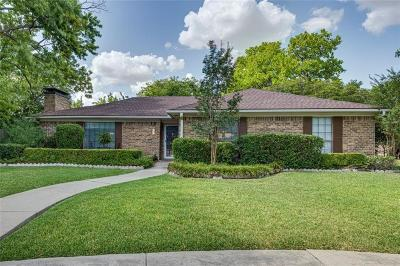 Plano Single Family Home Active Option Contract: 3627 Wellington Place