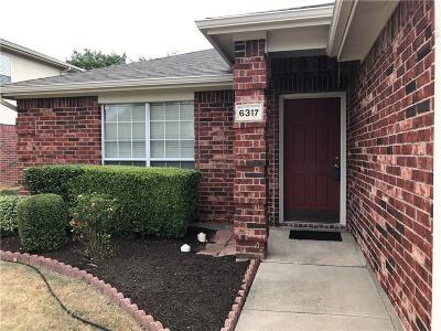 McKinney Single Family Home For Sale: 6317 Marvin Gardens