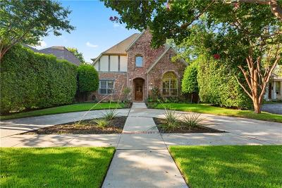 Single Family Home For Sale: 6038 Goliad