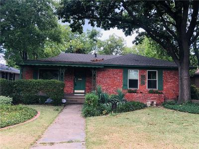 Dallas TX Single Family Home For Sale: $375,000