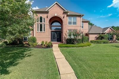 Dallas County, Denton County, Collin County, Cooke County, Grayson County, Jack County, Johnson County, Palo Pinto County, Parker County, Tarrant County, Wise County Single Family Home For Sale: 609 Loch Chalet Court