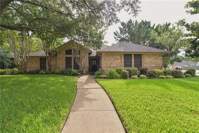 Keller Single Family Home Active Option Contract: 216 Roy Lane