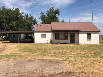 Archer County, Baylor County, Clay County, Jack County, Throckmorton County, Wichita County, Wise County Single Family Home For Sale: 19516 Us Hwy 277 E