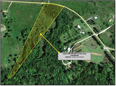 Residential Lots & Land For Sale: Tr 16e Fm 637