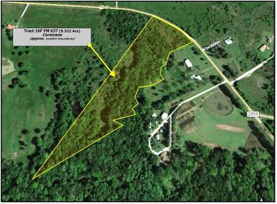 Residential Lots & Land For Sale: Tr 16f Fm 637