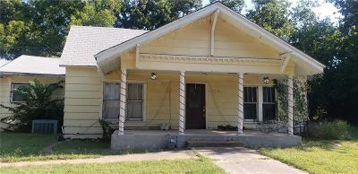 Comanche Single Family Home For Sale: 404 E Duncan Avenue