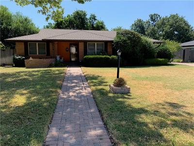Fort Worth Single Family Home For Sale: 6121 Trail Lake Drive