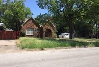 Fort Worth Single Family Home For Sale: 2409 Westbrook Avenue #1