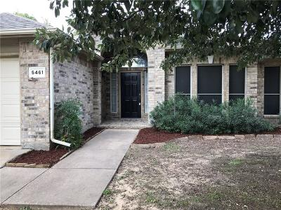 Tarrant County Single Family Home For Sale: 5461 Glen Canyon Road